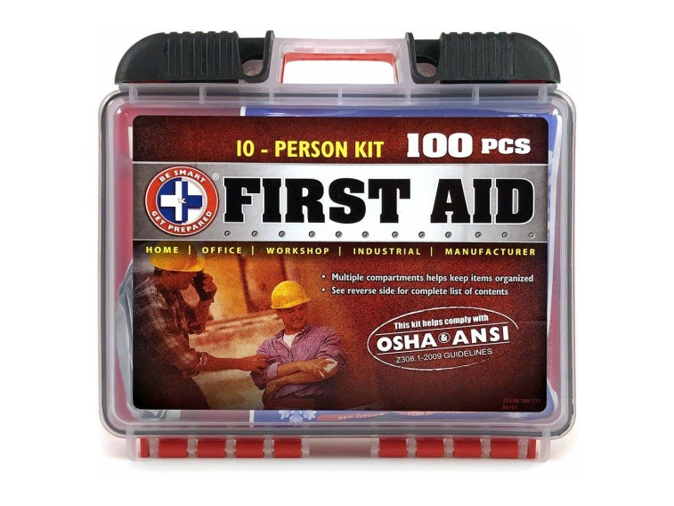 Total Resources Deluxe 100-pc First Aid Kit