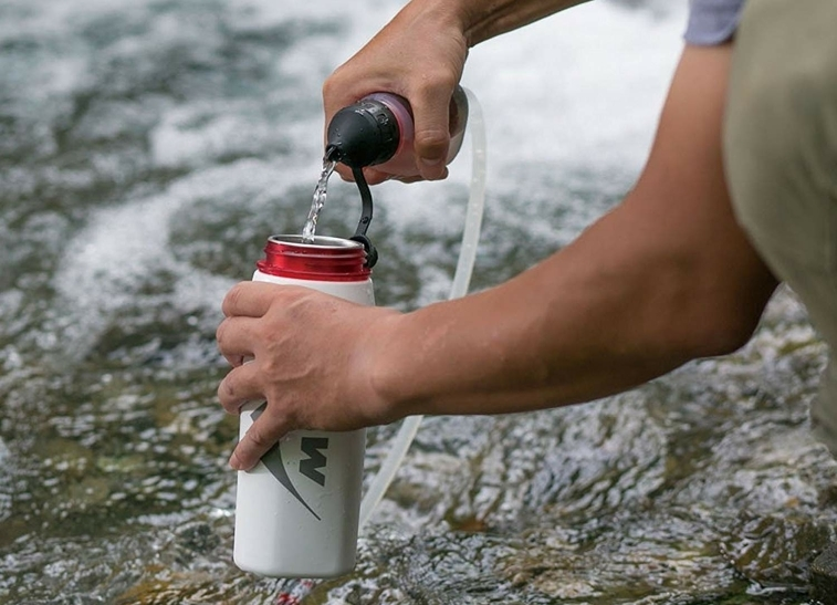 MSR TrailShot Pocket-Sized Water Filter