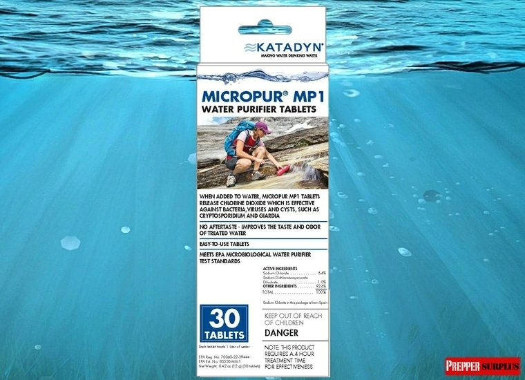Katadyn Micropur Water Purification Tablets