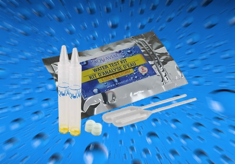 AquaVial Water Q Test Kit 2 Pack