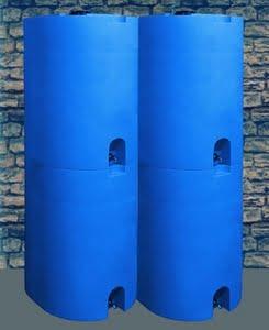 stackable design water barrel