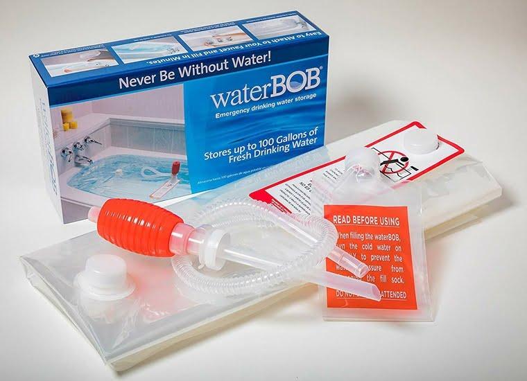 WaterBOB Bathtub Emergency Water Storage Bag