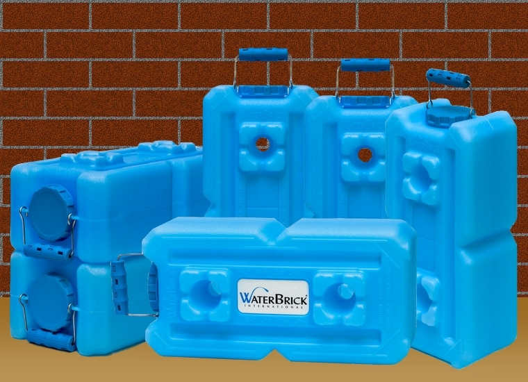 WaterBrick Water Storage Container 6 Pack