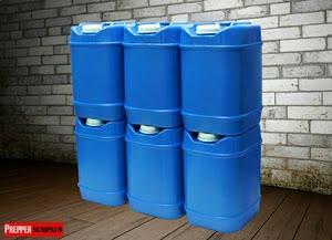 Stored Emergency Water