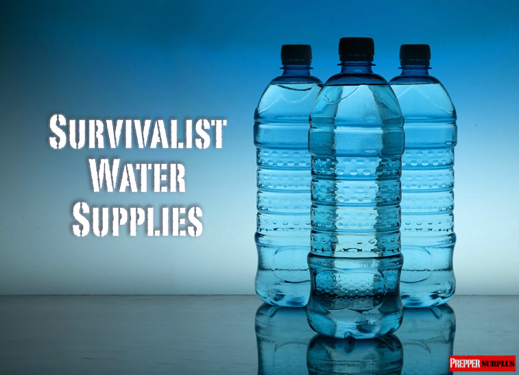 needed survivalist water supplies