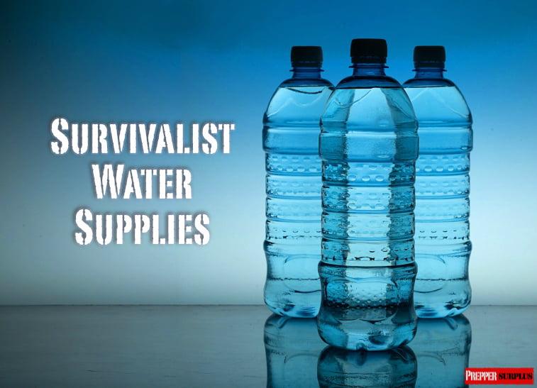 needed survivalist water supplies