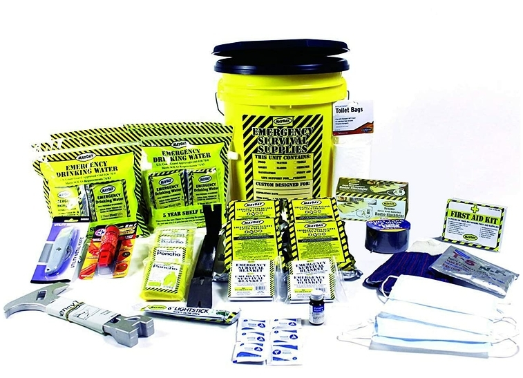 Mayday 4 Person DLX Home Emergency Survival Kit
